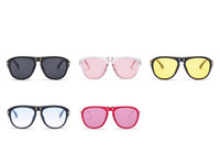 Flip Eyeglasses Online Shopping - Ladies Multicolor Modern Eyeglasses Men And Women Sunglasses For Photography Decor Candy Color Can Flip Sun Glasses Fashion Hot Sale 15gf Z
