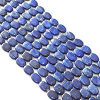 perles de lapis ovales achat en gros de-Produits semi-finis bricolage excellente qualité Nouvelle pierre de Lapis lazuli 13x18mm ovale Forme ronde Perles en vrac bijoux bricolage 15 pouces