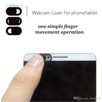 Wholesale china tablet thin online - Webcam cover for phone Tablet pc Laptop External Webcams Devices Protect your privacy Super Thin mm
