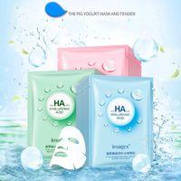 pele coreana venda por atacado-Hot IMAGES HA Hidratante Máscara Facial Água Condensar Hidratante Facial Diminuir Os Poros Coreano Cosméticos Máscara Facial Cuidados Com A Pele