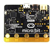 controlador abierto al por mayor-Microcontrolador a granel de BBC micro: bit Basics con detección de movimiento, brújula, pantalla LED y Bluetooth Open Development Board