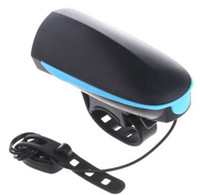 ingrosso ciclo elettronico-NEW Electronic Bike Bell Ring 110db Ciclismo Bicicletta Horn Speaker Bike Lights Outdoor Accessori per biciclette New Hot