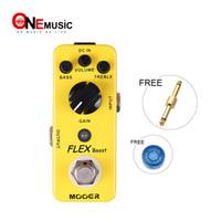 Wholesale Mooer Flex Boost Guitar Effect Pedal Wide Gain Range Boost Full Metal Shell True Bypass