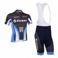pantalones cortos de ciclismo gigante al por mayor-Giant 2018 Cycling Clothing triatlón Tour de France equipo de ciclismo Jersey MTB culotte de bicicleta Set Ropa Ciclismo Maillot 9D gel pad