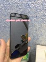étui en or 24 carats achat en gros de-Cadre en métal dur de haute qualité boîtier de batterie arrière arrière 8mu 24K or pour Apple pour iPhone 6 pour iphone6s plus or noir