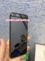 iphone 24k gold großhandel-Hochwertiger Hartmetallrahmen Volle Rückseite Batteriegehäuse Fall 8mu 24K Gold für Apple für iPhone 6 für iphone6s sowie schwarzes Goldplatin