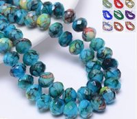 Wholesale porcelain angels for sale - Group buy New Handmade Bracelet Porcelain Beads Round Crystal Beads Ceramic Beads Accessories Manufacturers