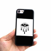 Wholesale iphone abstract - stree abstract eye pattern cell phone Back Capa For iPhone 8 8 plus Protective shell soft silicon edge for iphone 7 plus phone x case