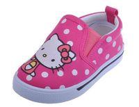 merhaba kanvas toptan satış-Hello Kitty Çocuklar Ayakkabı 2016 Gündelik Kanvas Ayakkabılar Çocuk Sneakers Toddler Kız Sneakers Loafer'lar üzerinde ...