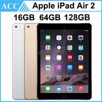 Wholesale Refurbished Ipad 16gb - Refurbished iPad Air 2 iPad6 Wifi 9.7 inch 16GB 64GB 128GB A8X Chip Gold Silver Space Gray Free DHL