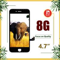 iphone 8g al por mayor-Para la pantalla LCD del iPhone 8 Para la Pantalla LCD de Calidad Tianma Digitalizador Táctil Pantalla Completa Para el iphone 8G 4.7