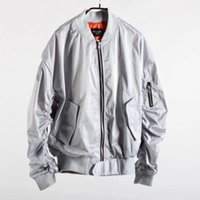 Wholesale women s army green cotton jackets resale online - 2019 New fear of god sleeve women men jackets coat hip hop justin bieber oversize FOG men unisex pocket jacket colour S XL