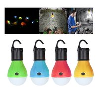 Wholesale Power Save Battery - 3 LEDs Emergency Camping Tent Lamp Soft White Light LED Bulb Lamp powered AAA batteries Energy Saving Outdoor Hiking Lanter