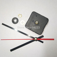 Wholesale Mechanisms For Clocks - Free Shipping 10pcs New Quartz Clock Movement For Clock Mechanism Repair Diy Clock Parts Accessories Shaft 20mm Jx005