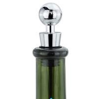 rolhas de vinhos de liga de zinco venda por atacado-Forma de bola de Vinho Rolha De Garrafa liga de Zinco durável tampas de vedação para garrafa de vinho tinto prático bar ferramentas de festa