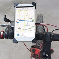 зажим велосипед руль оптовых-360 Вращающийся держатель для велосипеда