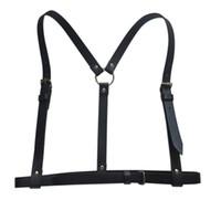 Wholesale garter straps wholesale - Women Sexy Harajuku Garters Faux Leather Body Bondage Cage Sculpting Harness Waist Belt Straps Suspenders Belt for Adult