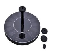 Wholesale brushless pond pumps resale online - Mini Solar power Fountain Brushless Pump Energy saving Plants Watering Kit with Solar Panel for Bird Bath Garden Pond Pumps Pools Spas DHL