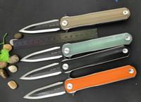 Wholesale fix bearings - STEDEMON C05 folding knife 14C28N blade KVT Ball Bearing System Hunting Knife Multi Tools Pocket xmas gift knife for man 1pcs