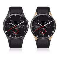 Alta qualidade KW88 Smart Watch Android 5.1 OS MTK6580 2.0MP câmera 3G WIFI GPS Heart Rate Smartwatch para iphone telefone Android