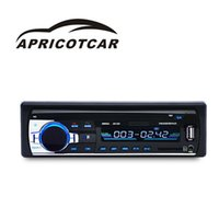 Wholesale host disk - The New Auto Parts Bluetooth Car MP3 Car Plug-in Machine U Disk Radio Supplies Audio Music Quality Good Quality Player Host