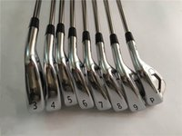 Wholesale Iron Man Hands - A3 718 Iron Set A3 718 Golf Forged Irons High Quality Golf Clubs 3-9Pw Steel Shaft With Head Cover