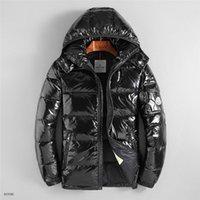 artı boyutu kışlık katlar toptan satış-Erkek tasarımcı kış Ceket Marka Fermuar Ceket Açık Spor Ceketler Artı Boyutu Tasarımcı Aşağı Ceket Sonbahar Kış Ceket Rüzgarlık
