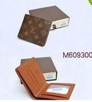Wholesale mens long wallet brand resale online - Mens Brand Wallet Leather With Wallets For Men Purse Wallet Men Wallet no box