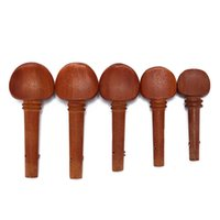 Wholesale tune violin online - 1pcs Violin Fiddle Tuning Peg Set Jujube Wooden Replacement Violin Tuning Pegs Parts Size