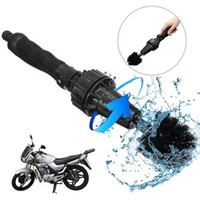Wholesale motorcycle cleaner - Car Motorcycle Cleaning Brush Water-driven rotating Washing Brushes