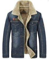 ingrosso giacca invernale jeep-Giacche casual da uomo JEEP nuove giacche invernali invernali più coat in velluto di cotone