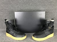 Wholesale Force Lights - 2018 Famous Special Forces Force Racers 1 One Boots Black Gum Light Brown 859202 009 Mens Womens Sports Athletic Trainers size36-45