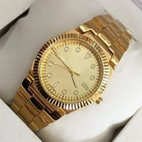 Wholesale Bracelets Models - New Model Hot Sale Fashion Women Dress Watch Gold silver color Steel Bracelet clock Chain Luxury Lady Wristwatch Relojes De Marca Mujer