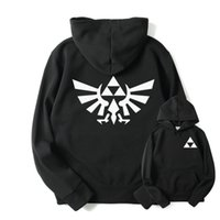 Wholesale Legend Zelda Hoodie - Wholesale- RUMEIAI High Quality The Legend of Zelda Link Hoodies Men Thicken Hoodie Women Anime Pullover Sweatshirt Casual Hip Hop Hoodied