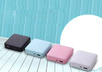 Wholesale Magic Cute - Magic skin pattern mobile power compact cartoon super cute mobile phone charging treasure universal fast flash charge CDB005