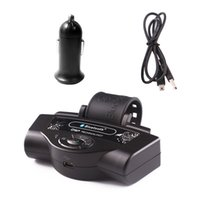ingrosso bluetooth del diffusore del volante-Volante Car Bluetooth vivavoce Smartphone Volante Altoparlante senza fili Telefono Car Kit Lettore musicale MP3