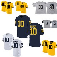 Hot Rashan Gary 21 Desmond Howard 10 Tom Brady  2 Charles Woodson jersey  NCAA Michigan Wolverines Stitched College Football Jerseys QF020PY 5c88c4973