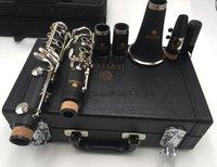 17 schlüssel klarinette großhandel-JUPITER JCL-700N Professionelle Holzblasinstrumente 17 Schlüsselklarinette Bb Melodie B Flach Vernickelt Instrument Für Studenten Freies Verschiffen