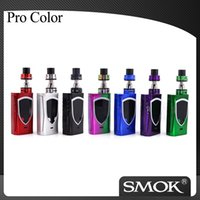 Wholesale Electronic Cigarette Kit 5ml - Authentic SMOK ProColor Kit 225W Pro Color Mod Kit with 5ml SMOK Big Baby Tank SMOK Electronic Cigarette Kit 100% Original