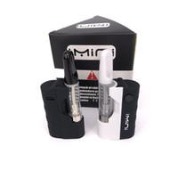 Wholesale beat boxes resale online - Imini TH210 starter Kit Thread Battery aMh Vape Pen Oil vaporizer Box Mods beat Lo Max Battery