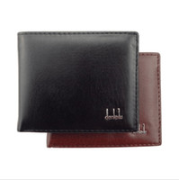 Wholesale Wholesalers Men Small Wallets - 2018 New Vintage PU Mens Male Purse Money Credit Card Holder Case Coin Pocket small money purses Wallets