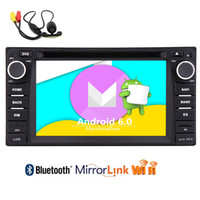 Wholesale car audio for toyota - Android6.0 6.2'' for TOYOTA Corolla EX Car DVD Player in Dash GPS Navigation Headunit Automotive Radio Audio Wifi Screen Mirroring 1080P