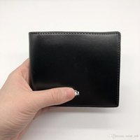 Wholesale b coins - Classic Luxury Men's Wallet Short Clip MB Artisan Craft Designer Card Case MT Business Cardholder Premium M B Hot Purse Photo Frame wal