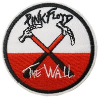 parches punk envío gratis al por mayor-2.75 '' PINK FLOYD Wall Psychedelic Music Band Iron On / Sew On Patch T-shirt TRANSFER MOTIF APPLIQUE Rock Punk Badge Envío gratis