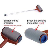 Wholesale furniture wall decor - New Pro Paint Roller Kit Brush Painting Runner Pintar Tool Facil Wall Decor