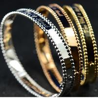 Wholesale 14k Gold Filled Beads - VCA Bracelets France PERLE bead Bracelets Grace bead Bracelet Women Paris V bead Bracelet Party Mashup style Bracelets
