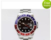 montres de plongée perpétuelles achat en gros de-Montre de luxe Homme Montres Perpetual II lunette en céramique 116710 Bracelet en acier 116713 Sports Master Dive Montre-bracelet