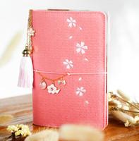 me senti bonito venda por atacado-A5 / 6 Coréia Bonito Planejador Notebook Kawaii Escritório Papelaria Sentiu Notebook Pessoal Espiral Ring Binder Diário Jornal