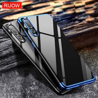 Wholesale Nova Pro - For Huawei P20 Pro lite Case Soft TPU Shockproof Back Cover Laser Plating Phone Cases For Huawei Nova 3E P20 Luxury