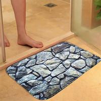 Wholesale absorbing mat for sale - Group buy 400MMx600MM Honlaker D Hill Stone Bath Mat Bathroom Door Water Absorbing Antiskid Foot Mat Toilet Floor Mats